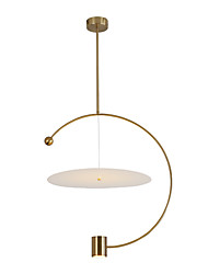 cheap -1-Light 45 cm Mini Style Chandelier Metal Mini Electroplated Artistic / Traditional / Classic 110-120V / 220-240V