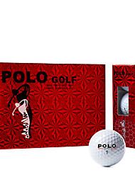 abordables -Balle de Golf Portable / Golf / Des sports Fibre de Titane / Caoutchouc pour Golf