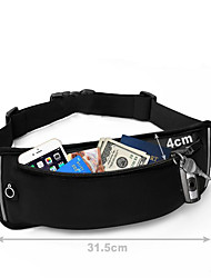 cheap -Waist Bag / Waistpack Cell Phone Bag Fanny Pack for Sports Bag Waterproof Quick Dry Phone / Iphone Running Bag Nylon Unisex / iPhone 8/7/6S/6
