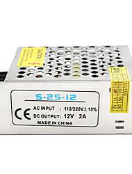 Недорогие -1 шт. Светлая полоса световая строка видеомониторинг импульсный источник питания вход ac85-265v выход 12 В 25 Вт