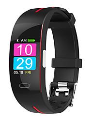 Недорогие -ST3 Мужчины Умный браслет Android iOS Bluetooth Водонепроницаемый Сенсорный экран Пульсомер Измерение кровяного давления Спорт ЭКГ + PPG