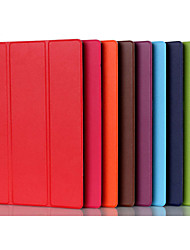 cheap -Case For Lenovo Lenovo Tab 2 X30F / M Shockproof / with Stand / Ultra-thin Full Body Cases Solid Colored Hard PU Leather