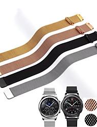 abordables -20mm 22mm bande pour samsung galaxy regarder actif 42mm 46mm vitesse sport s2 s3 milanese boucle pour amazfit bip 18mm huawei watch1 bracelet