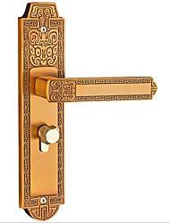 cheap -European indoor bedroom door lock mechanical door lock home mute solid wood door lock with door lock
