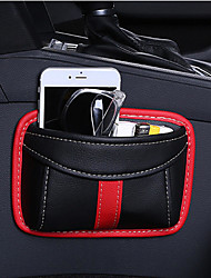 cheap -Paste Type Car Seat Crevice Storage Bag Protable Seat Back Consle Organizer Box Seat Slit Pocket