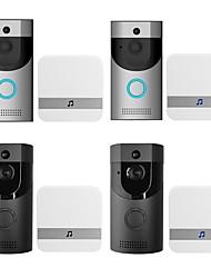 Недорогие -B30 беспроводной без экрана (вывод по приложению) телефон один на один видео домофон