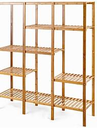 Недорогие -экологичный бамбуковый стеллаж для хранения книг с 4 полками