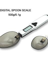 Недорогие -0.5g-500g Портативные Автоматическое выключение Несколько режимов Электронные кухонные весы Электронная шкала для ложки Семейная жизнь Кухня ежедневно