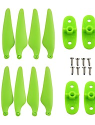 cheap -Hubsan Zino H117S 8PCS propeller +4PCSPropeller Briquetting Block RC Quadcopters RC Quadcopters ABS+PC Removable / Easy to Install / Durable