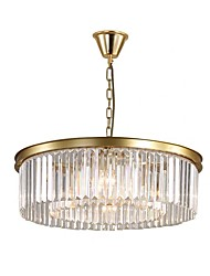 cheap -QIHengZhaoMing 8-Light 60 cm Chandelier Metal Brass Traditional / Classic 110-120V / 220-240V