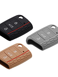 cheap -Automotive Car Key Chain Keychain Favors Fashion Silicon For Volkswagen All years Cool