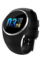 cheap -Q1 Men Women Smartwatch Android iOS Bluetooth Waterproof Heart Rate Monitor Calories Burned Hands-Free Calls Smart ECG+PPG Pedometer Call Reminder Sleep Tracker Sedentary Reminder