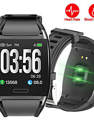 cheap -STV2 Men Smart Bracelet Smartwatch Android iOS Bluetooth Waterproof Touch Screen Heart Rate Monitor Blood Pressure Measurement Sports Pedometer Call Reminder Activity Tracker Sleep Tracker Sedentary