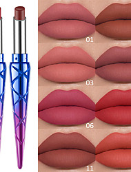 cheap -1 pcs 12 Colors Daily Makeup Waterproof / Portable / Lips Wet / Matte Waterproof / Moisture / Long Lasting Casual / Daily / Fashion Makeup Cosmetic Grooming Supplies