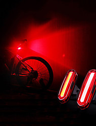 cheap -LED Bike Light Rear Bike Tail Light Safety Light Mountain Bike MTB Bicycle Cycling Waterproof Portable USB Warning USB 120 lm Rechargeable USB Camping / Hiking / Caving Cycling / Bike - WEST BIKING®