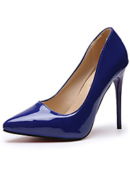 cheap -Women's Heels Stiletto Heel Pointed Toe PU Minimalism Spring & Summer / Fall & Winter Black / Almond / White