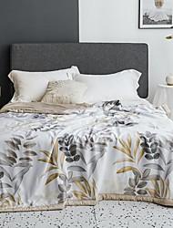 abordables -Confortable - 1 Couette Eté Polyester Fleur