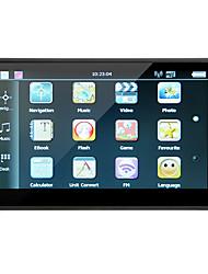 Недорогие -7-дюймовый ЖК-дисплей емкостный сенсорный экран истинного цвета автомобиля GPS-навигатор 8 ГБ rom 256 МБ ОЗУ mp3 mp4 бесплатная карта времени жизни обновлено2017 обновлена карта Европы)