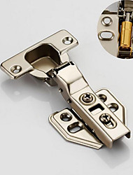 cheap -Cold-rolled steel bending fixed hinge 304 stainless steel cabinet door hinge aircraft pipe hinge wardrobe damping hydraulic buffer hinge