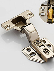 cheap -Cold rolled steel large curved fixed hinge 304 stainless steel cabinet door hinge aircraft pipe hinge hinge wardrobe damping hydraulic buffer hinge