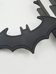 cheap -3D Metal Car Stickers Bumper Stickers Car Decoration Badge Emblem Bat