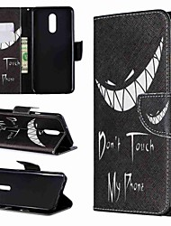 cheap -Case For LG LG V30 / LG V20 / LG Stylo 4 Wallet / Shockproof / with Stand Full Body Cases Word / Phrase Hard PU Leather / LG G6