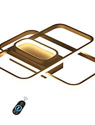 Недорогие -светодиодный потолочный светильник новинка 50 Вт / поделки скрытого монтажа светильники из анодированного алюминия / теплый белый / белый / с возможностью затемнения с пультом дистанционного