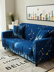 cheap -Sofa Cover Ice and Snow Print Printed Polyester Slipcovers