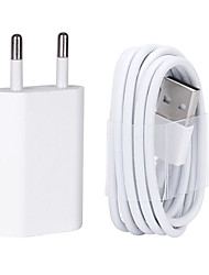 cheap -USB Wall Charger Cable with 8 Pin Data for iPhone/7/6/6S plus/5/5s/5C/se