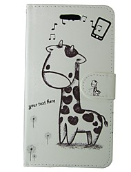 cheap -Case For Samsung Galaxy S8 / S7 Card Holder / Flip Full Body Cases Solid Colored / Animal / Cartoon Hard PU Leather for S8 / S7 / S6 edge