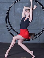 cheap -Ballet Bottoms Women's Performance Acrylic Split Joint Natural Skirts
