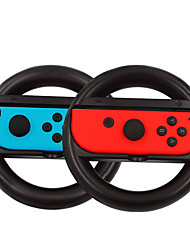 cheap -1 Pair Steering Wheel Handles Stand Holder for Nintend Switch Left Right Joycon Controller Game Handle Stand