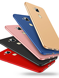cheap -Case For Huawei Huawei Mate 7 Shockproof / Frosted Back Cover Solid Colored Hard Plastic