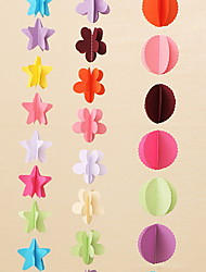 abordables -Décorations de vacances Vacances & Voeux Objets décoratifs Décorative Multi-couleurs 1pc