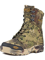 cheap -Men's Hiking Shoes Hunting Shoes Hiking Boots Waterproof Windproof Breathable Rain Waterproof Camo / Camouflage Hunting Hiking Autumn / Fall Winter Army Green / Anti-Slip