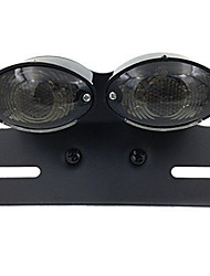 cheap -Smoke Motorcycle LED Turn Signal Brake License Plate Integrated Tail Light