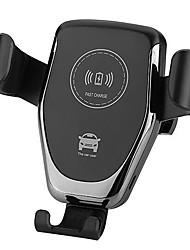 Недорогие -10w беспроводное автомобильное зарядное устройство для крепления телефона