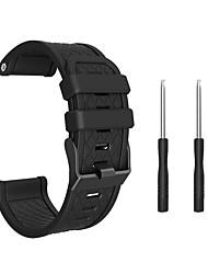 abordables -bracelet en silicone pour garmin fenix / fenix 2 largeur de bande 26mm