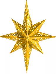 abordables -Décorations de vacances Décorations de Noël Décorations de Noël / Objets décoratifs Décorative Dorée 1pc