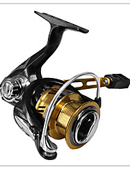 cheap -Fishing Reel Spinning Reel 7.1:1 Gear Ratio+6 Ball Bearings Hand Orientation Exchangable Bait Casting / Carp Fishing / General Fishing