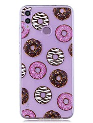 cheap -Case For Huawei Honor 8X / Huawei P Smart (2019) Pattern / Transparent Back Cover Donut Soft TPU for Mate20 Lite / Mate10 Lite / Y6 (2018) / P20 Lite / Nova 3i / P Smart / P20 Pro