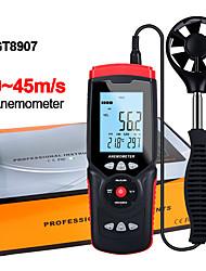 Недорогие -gt8907 анемометр анемометр термометр измеритель скорости ветра измеритель ветра 45 м / с жк-цифровой ручной инструмент
