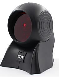 Недорогие -YK&SCAN YK-8120 Сканер штрих-кода сканер USB 2.0 Свет лазера 1800 DPI