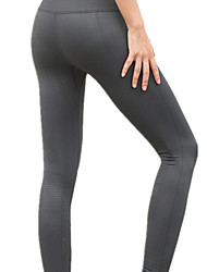 cheap -Women's Yoga Pants Solid Color Running Fitness Tights Bottoms Activewear Breathable Soft Butt Lift Micro-elastic