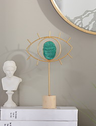 Недорогие -Декоративные объекты, Стекло Железо Европейский стиль для Украшение дома Дары 1шт