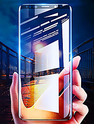 Недорогие -защитная пленка для samsung galaxy s8 / s8 plus / s9 / s9 plus 3d изогнутое полностью закаленное стекло 1 шт. передняя защитная пленка для экрана высокой четкости (hd) / твердость 9 ч /
