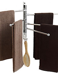 cheap -Towel Bar Creative Contemporary Stainless Steel 1pc - Bathroom Wall Mounted