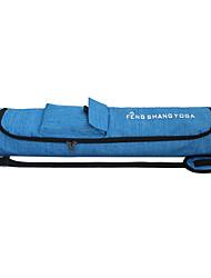 Недорогие -FODOKO Сумка для коврика для йоги - Йога Влагонепроницаемый, Быстровысыхающий, Пригодно для носки Кожа PU, холст