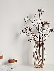Недорогие -хлопок в мягкой обложке моделирование цветок украшение дома свадьба проведение цветы дорога свинца цветок стены поддельные цветок 1 ветка 6 голов