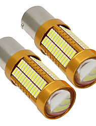 cheap -2pcs 1156 Car Light Bulbs 15 W SMD 4014 900 lm 106 LED Turn Signal Lights / Brake Lights / Reversing (backup) Lights For universal All years